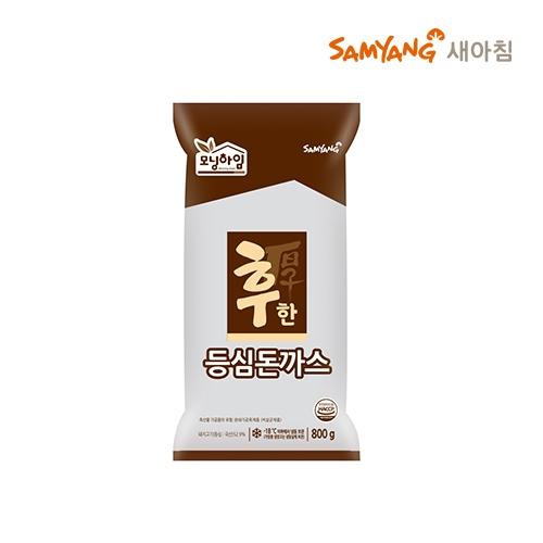 [무료배송&묶음할인] 삼양 후한 등심돈까스 800g*2