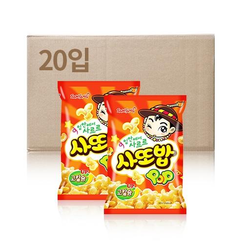 삼양 사또밥 67g x 20입