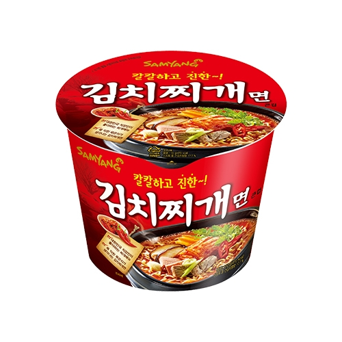 삼양 김치찌개면 큰컵 110g