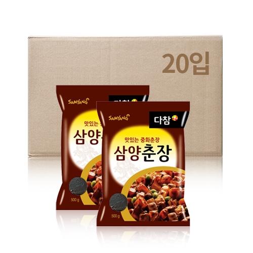 삼양 다참 춘장 500g x 20입